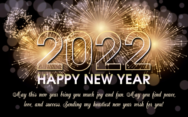 Happy New Year 2022 Messages