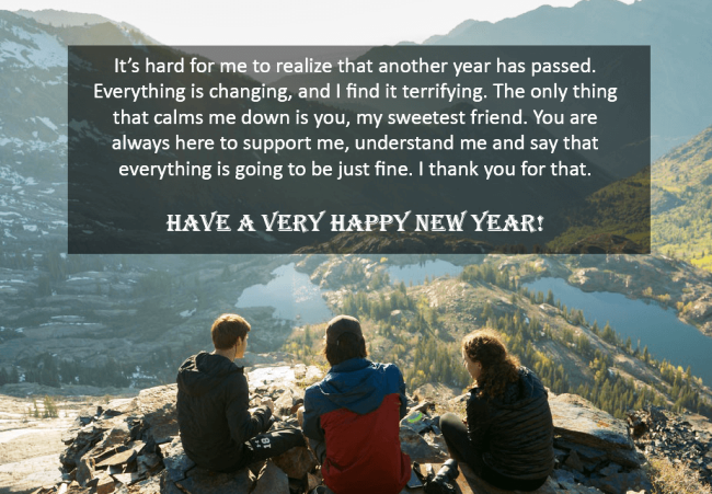 Happy New Year Quotes for Friends 2022