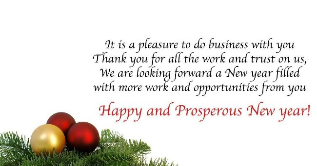 Happy New Year Wishes for Business Clients 2022