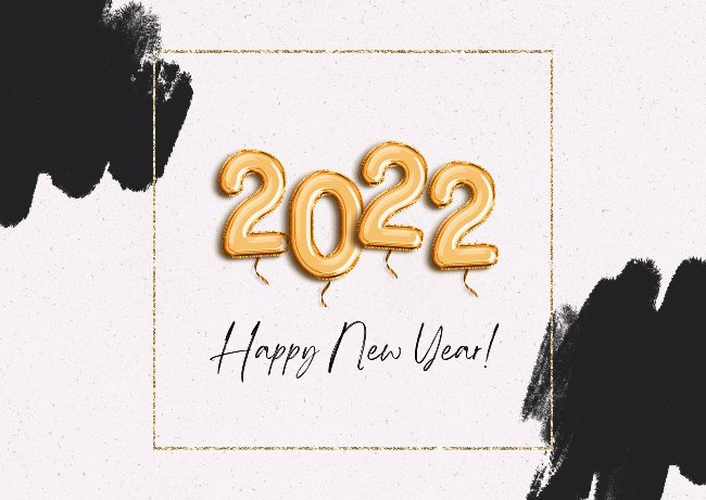 Happy New Year Cards 2022